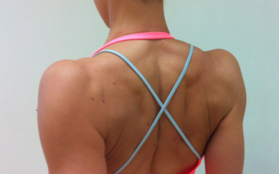Setting the shoulder blades