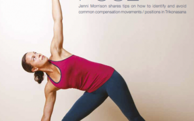 Improve your Triangle Pose